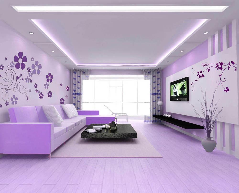 时尚客厅-手绘电视墙类-松原淑女坊精品墙艺产品分类